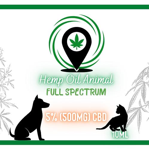 Olej 5% GREEN SPOT ANIMAL 10ml