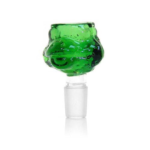 Żółw Ninja green GLASS bong Bowl 14mm