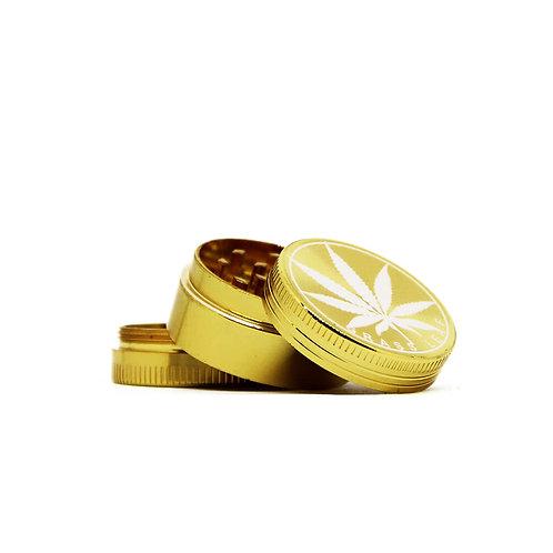 Młynek metalowy GOLD 30mm - 3 części