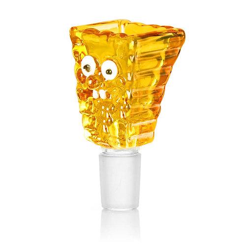 Spongebob Yellow GLASS Bong Bowl 14mm