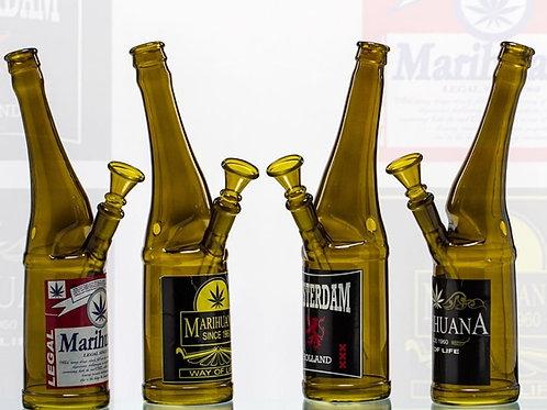 Bongo szklane Beer Bottle 26 cm