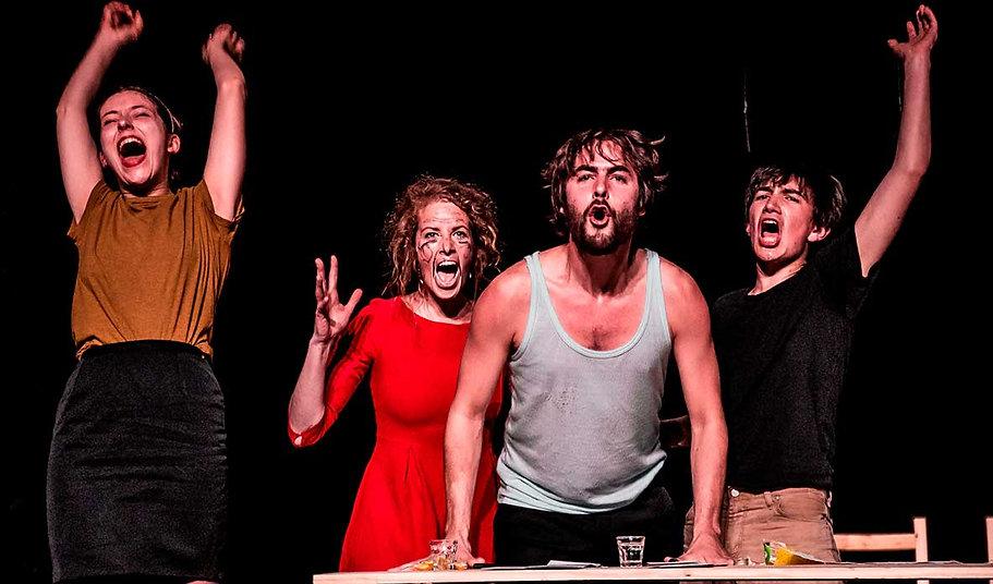Quatuor Violence, Cie Les divins Animaux, Théâtre, La Nouvelle Scène - Est de la Somme
