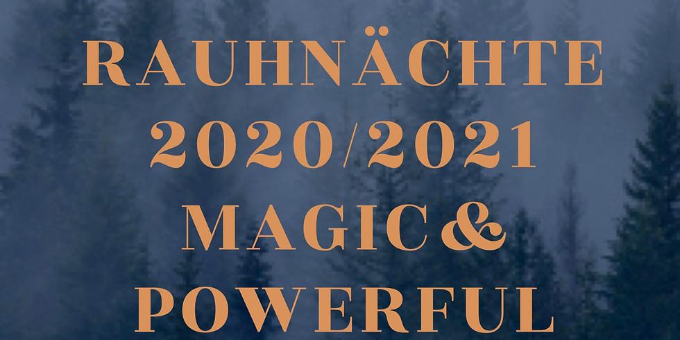 Abundance & Rauhnächte  plant your Seeds for 2021 - Online Kurs 21 Tage