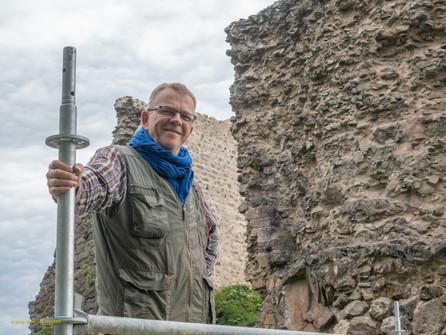 Visite de chantier archéologique du bâti au château du Hugstein - 16 novembre à 10h