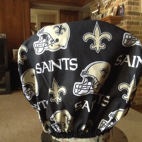 Saints car headrest cover