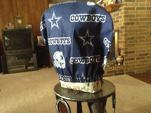 cowboys car headrest cover
