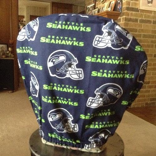 Seahawks car headrest cover