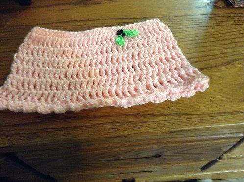 pink Petite Poncho