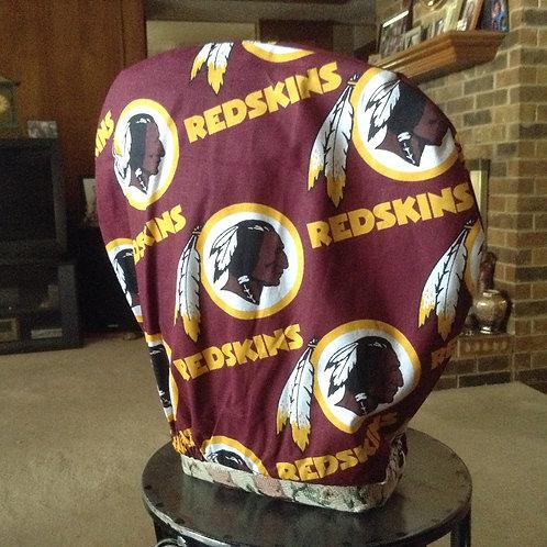 Redskins car headrest cover