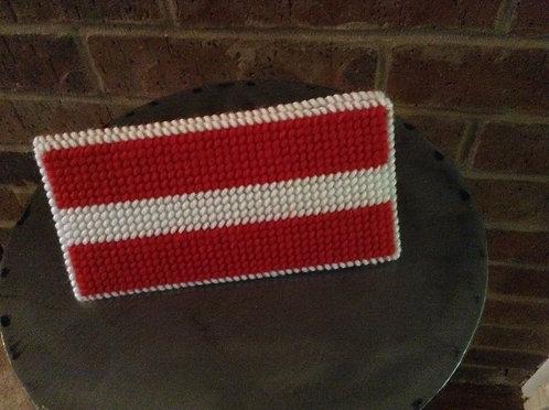Red/white money holder