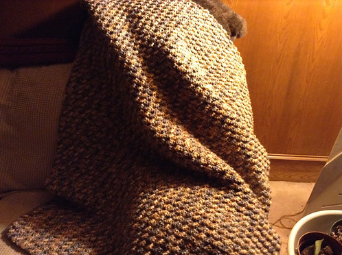 stone wash child afghan