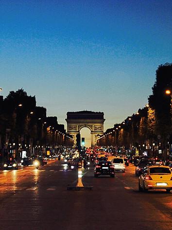 Champs Elyseé, Paris