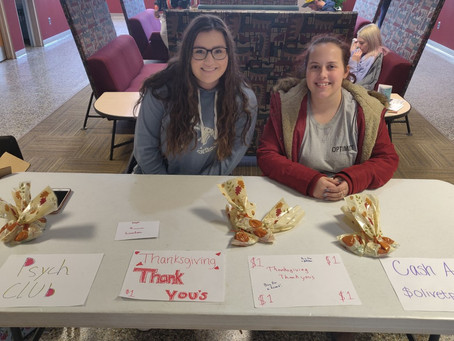 Psych Club Offers Thanksgiving Thank Yous
