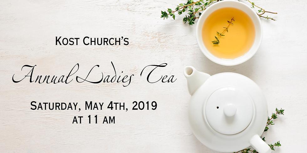 Annual Ladies Tea 2019