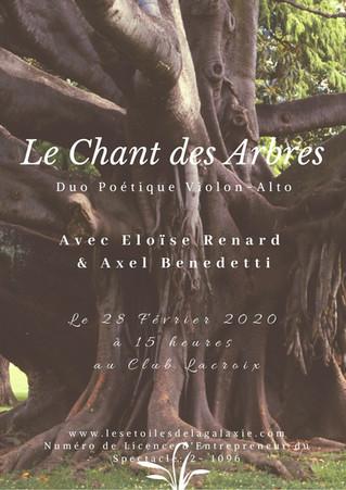 Le Chant des Arbres Duo Poétique Violon-Alto