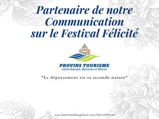 Notre Partenaire Officiel pour la Communication du Festival Félicité
