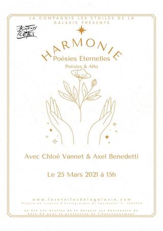 """Printemps des Poètes """"Harmonie"""": lorsque la Poésie rencontre la Musique"""