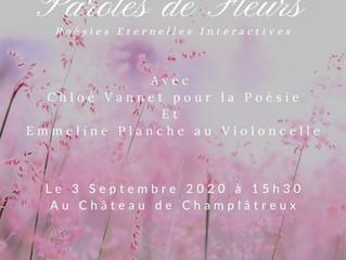 Paroles de Fleurs au Château de Champlâtreux