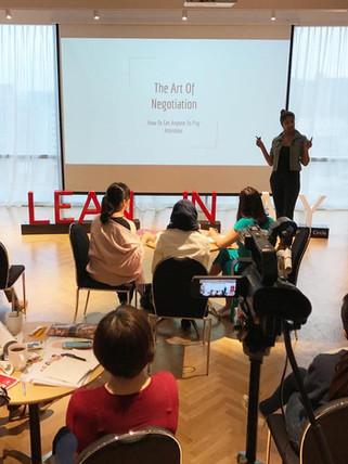 Lean In Career Program (Trainer)