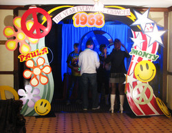 party entrance
