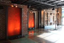 rust faux wall panels
