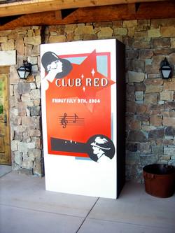 club red entrance