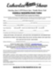 4 Wheel Drive Show Vehicle Registration.