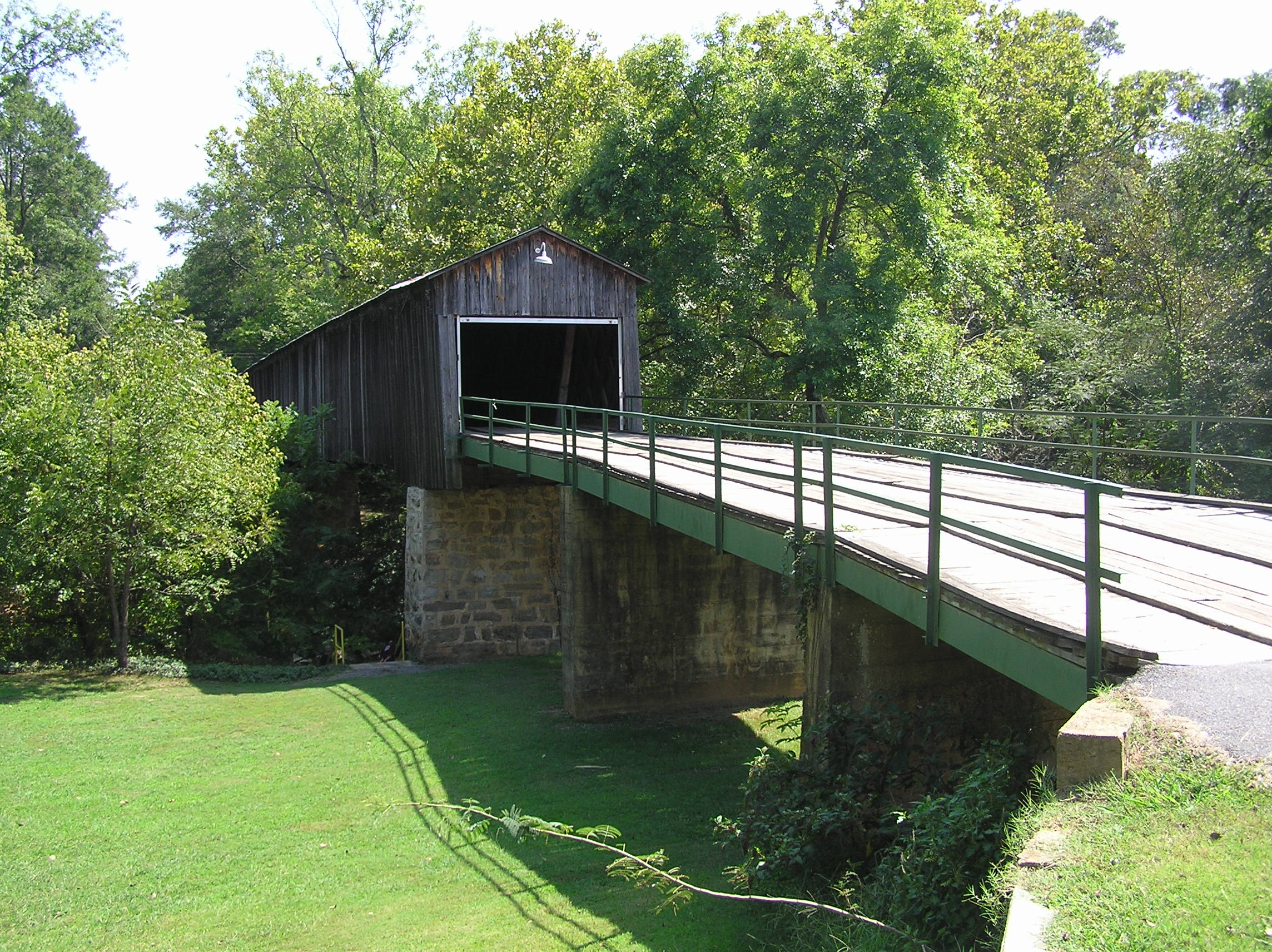 Euharlee Covered Bridge, 1886.