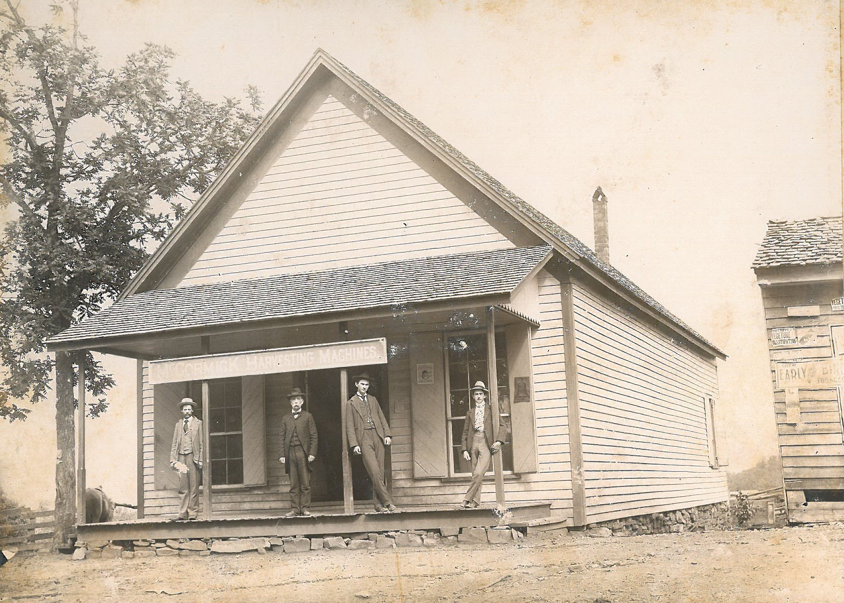 Covered Bridge Store, circa 1900
