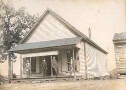 Covered Bridge Store, circa 1900