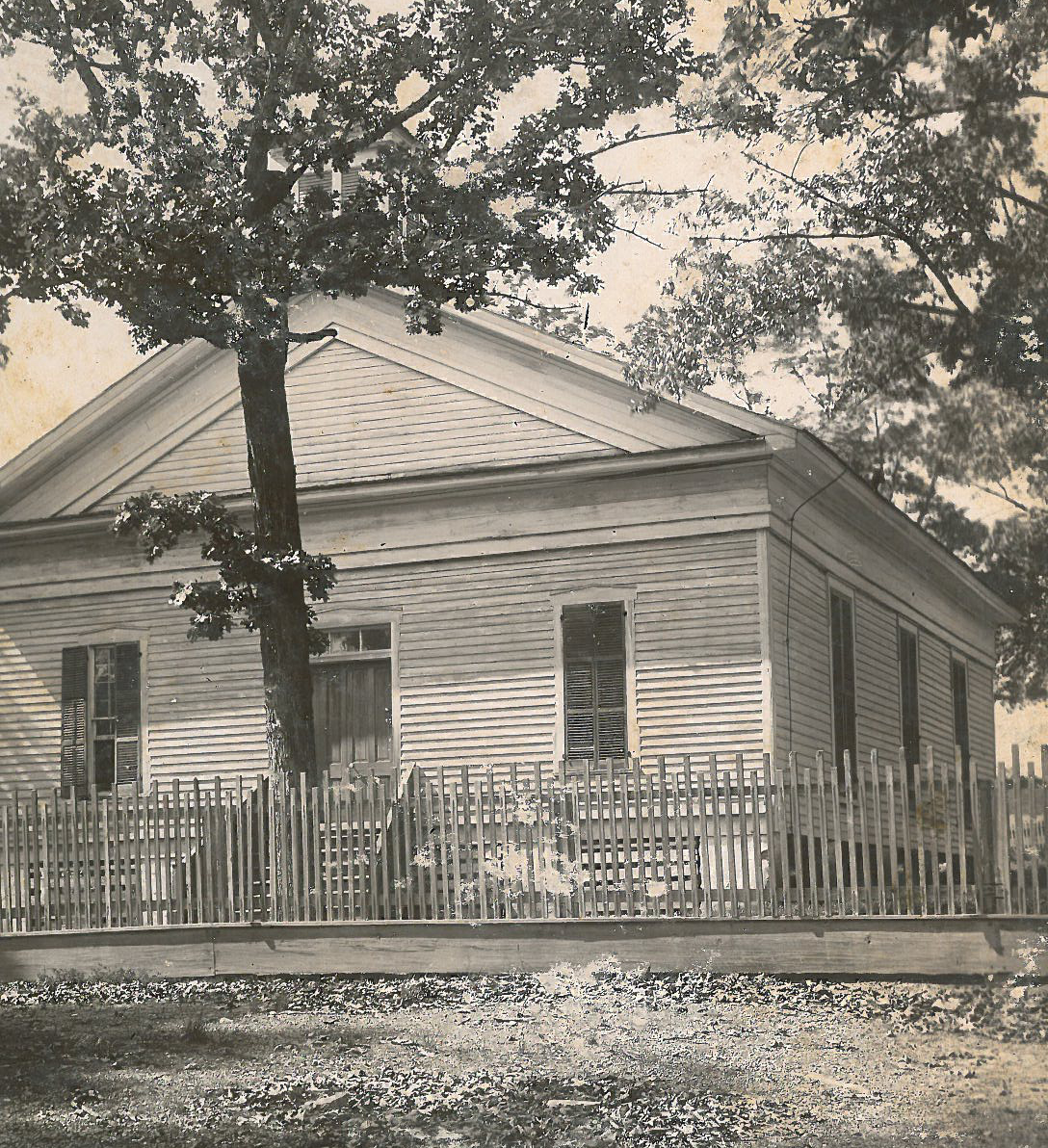 Early photo of Euharlee Presbyterian