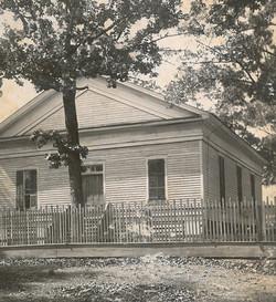Early photo of Euharlee Presbyterian