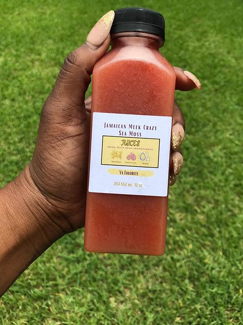 Jamaican Meek Crazy Sea Moss Juice