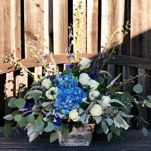 Large Sympathy Floral Arrangement
