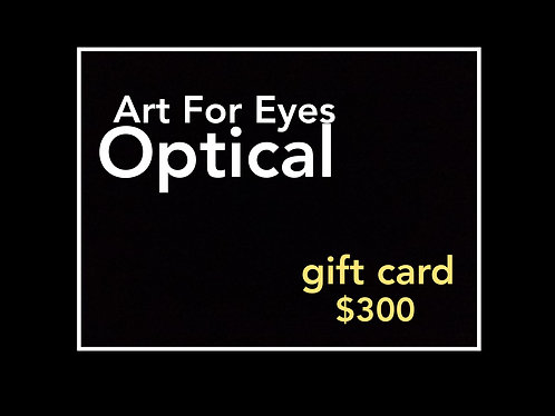 $300 Gift Card SALE