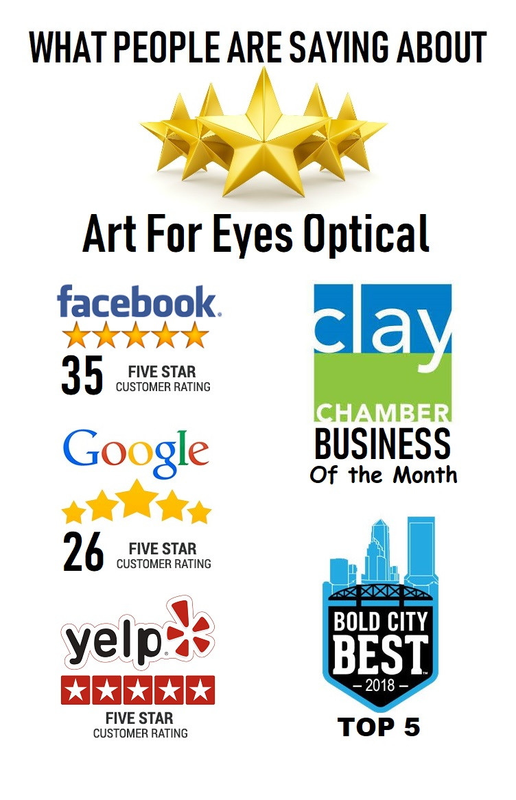 59a1eeec80 Art For Eyes Optical Fleming Island Eye Exam Glasses Contact lenses
