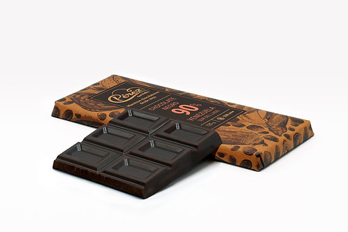 Chocolate negro de 90% Cacao Venezuela