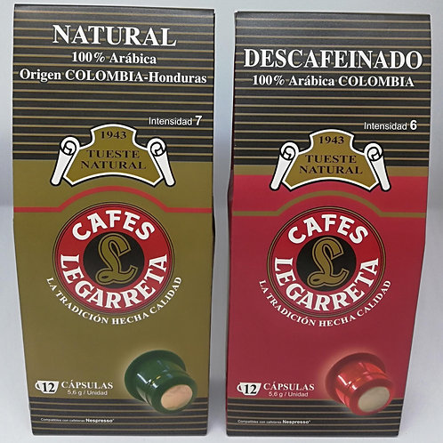 Decaffeinated Natural Roast Coffee