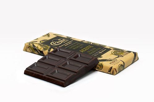 Chocolate negro 70% de cacao con Aceiote de Oliva virgen Extra