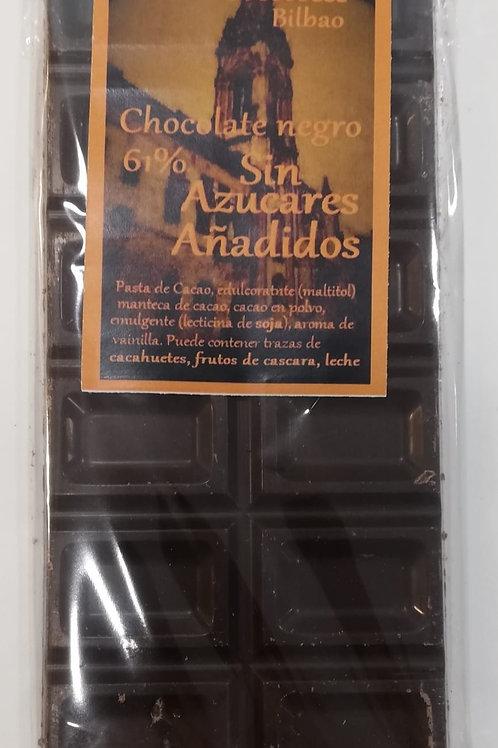 Chocolate negro 61% de Cacao