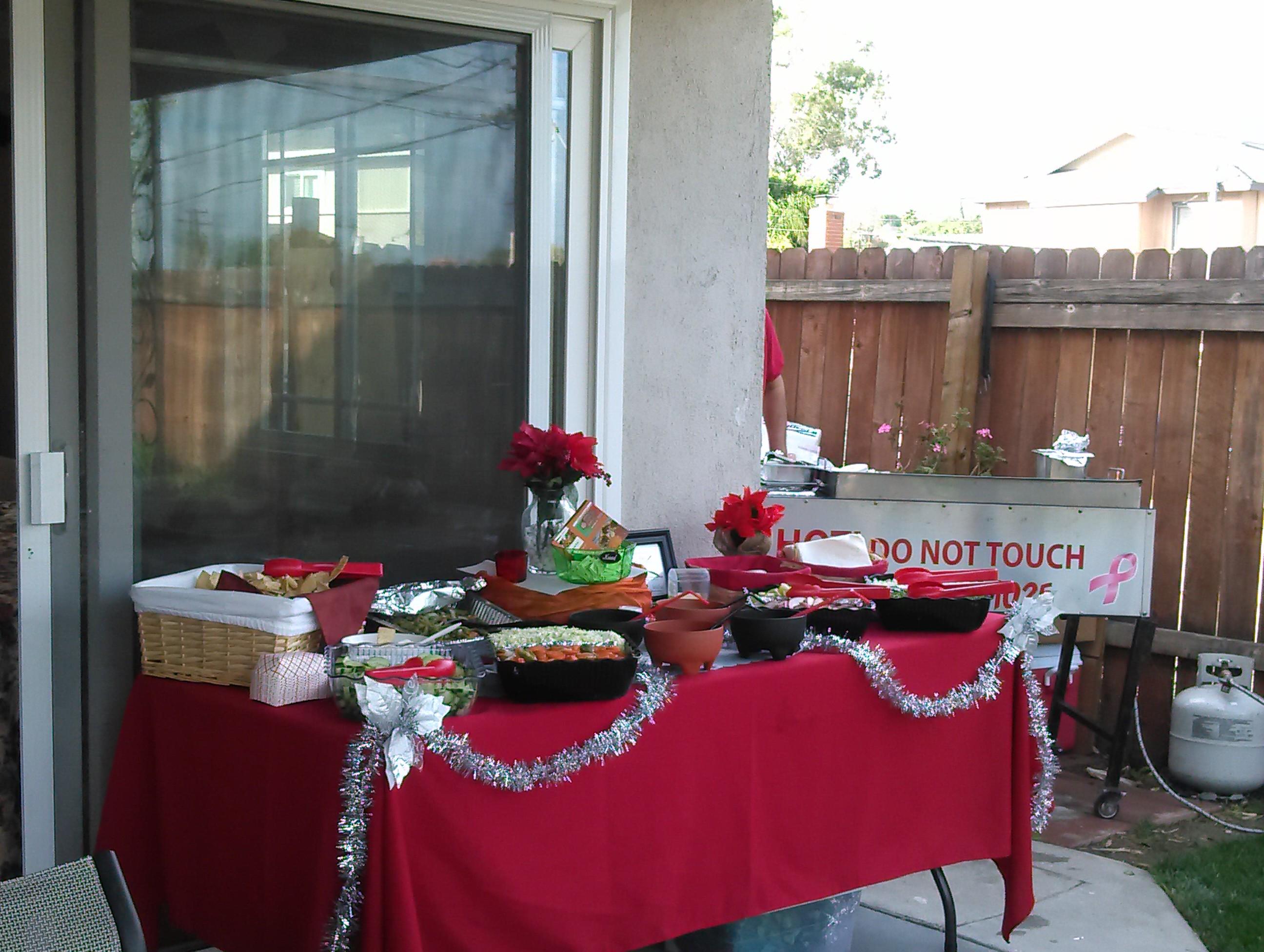 San Pedro; Christmas dinner