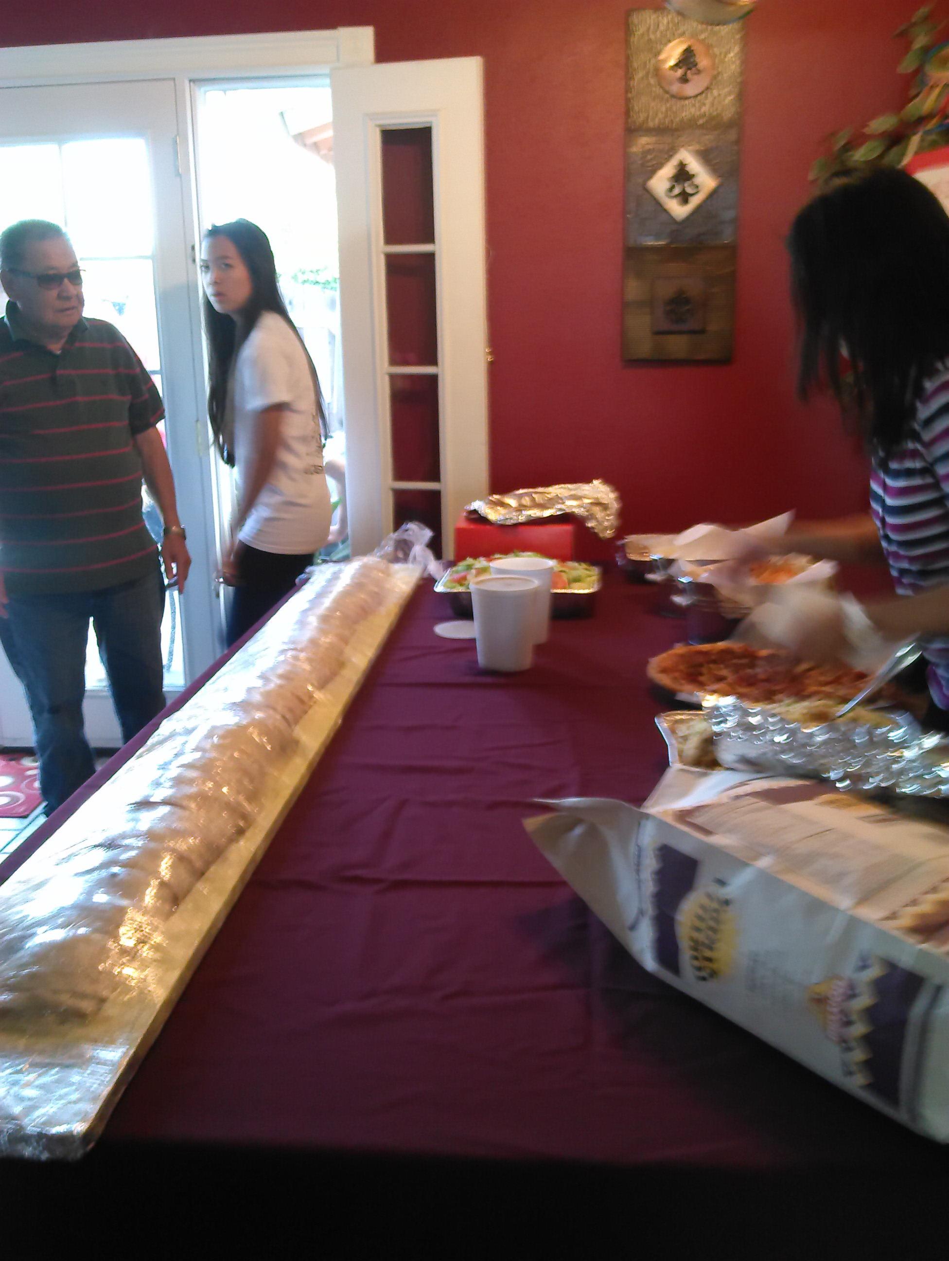6' Fiesta Burrito
