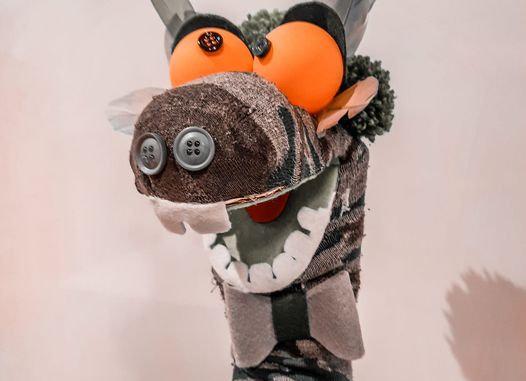 Atelier créatif enfant Marionnette chaussette