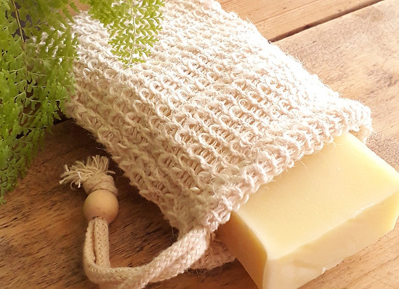 Pochette savon exfoliante