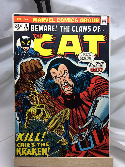 Marvel The Cat issue 3 ( April 1973 )