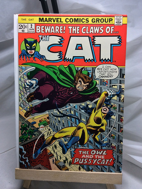 Marvel The Cat issue 2 ( January 73 )