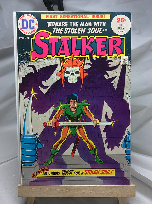 DC Stalker issue 1 ( July 1975 )