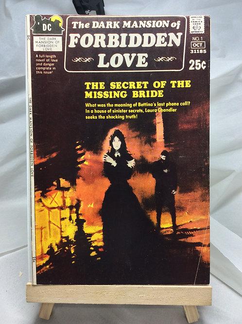 DC Dark Mansion of Forbidden Love issue 1 (October 1971 )