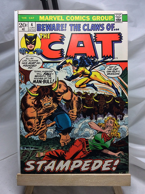 Marvel The Cat issue 4 ( June 1973 )