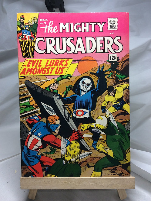 MCG The Mighty Crusaders issue 3 (January 1966)